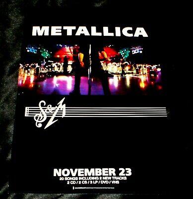 Metallica NEW! Rare Promo Poster