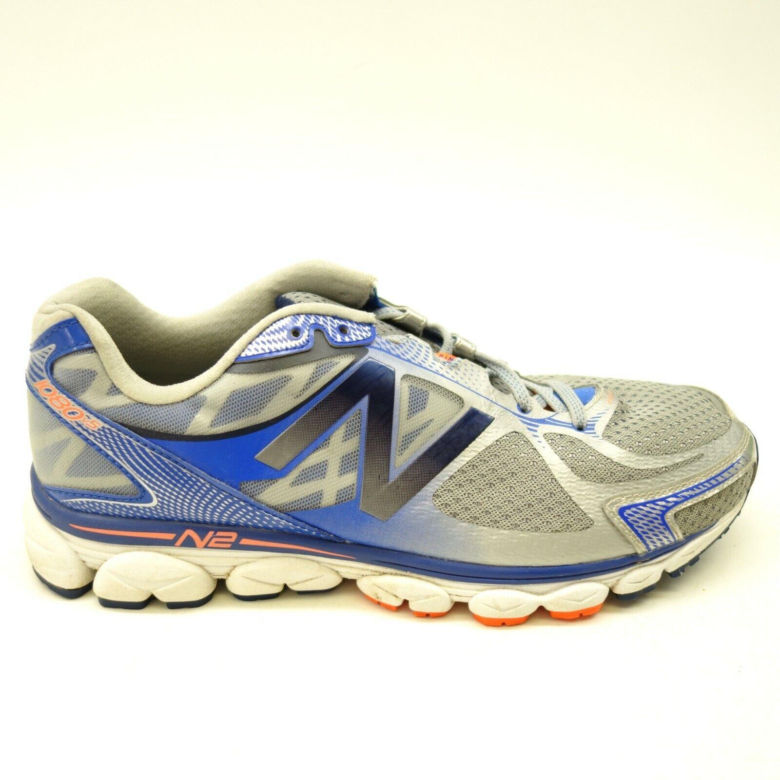 New Balance Mens 1080v5 US 10.5 EU 44.5 4E WIDE Cush Trail Runner Athletic scarpe