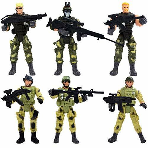 SOLDATO Action Figure Militari Toyandona 6pcs delle forze speciali action figure