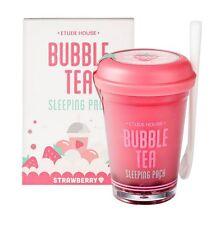 [Ship by USPS] ETUDE HOUSE Bubble Tea Sleeping Pack 100g - Strawberry Tea