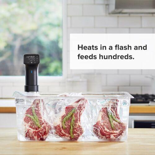 Anova CulinarySous Vide Precision Cooker Pro WiFi 1200 WattsAll Metal