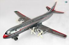 Vintage American Airlines Airliner 5024 Prop Engine Tin Toy Airplane Japan