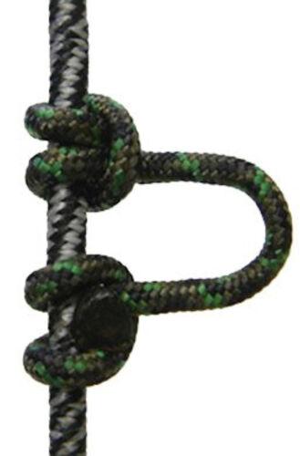 GIBBS Tir à L/'Arc-Super Boucle D-Loop Super boucle D-Boucle de 2 mm d/'épaisseur