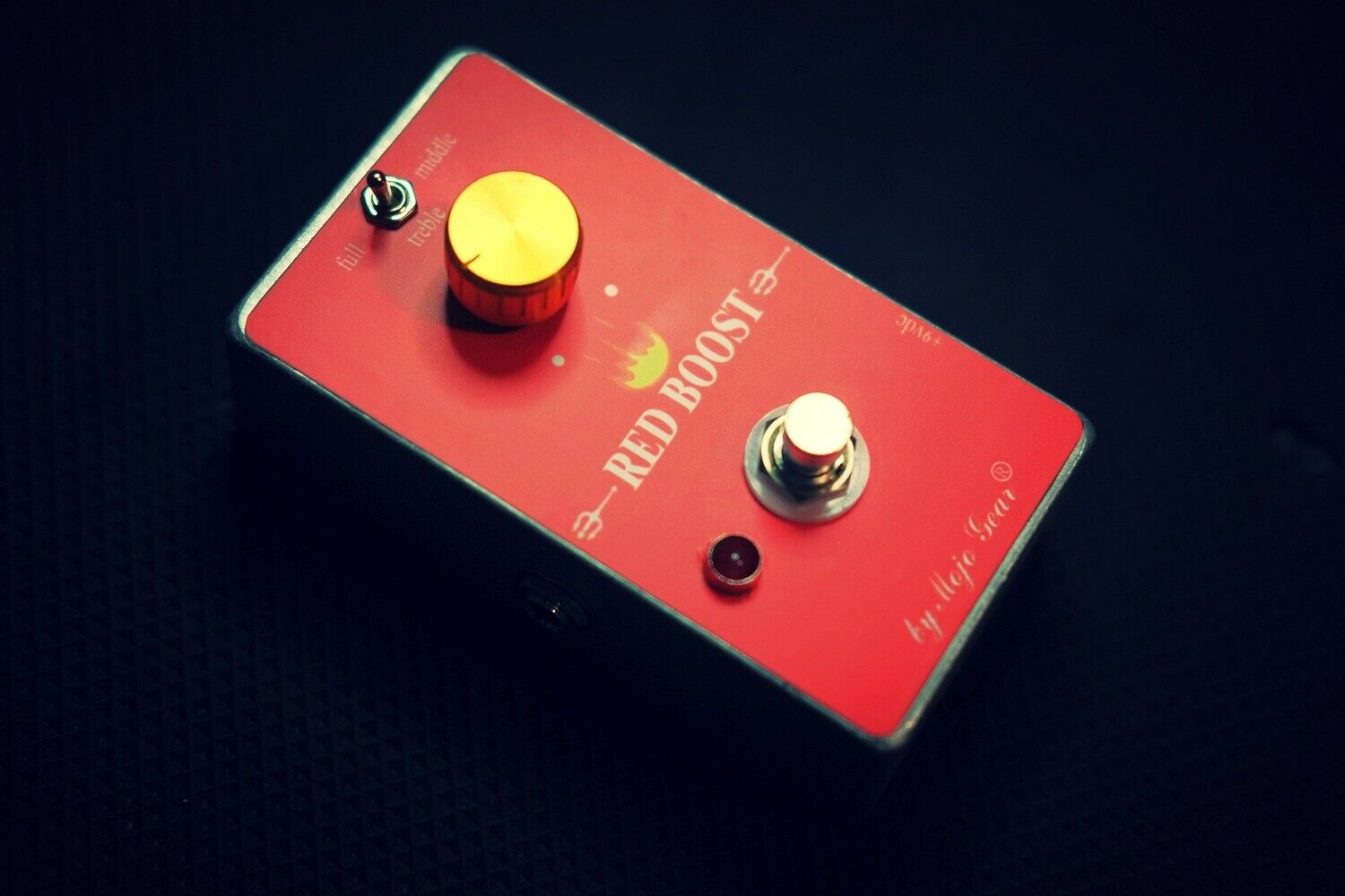 Red Boost Treble Booster Rangemaster Clone By Mojo Gear