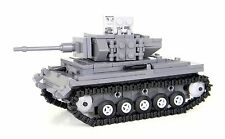 Panzer Tank German World War 2 Complete Set made w/ real LEGO® bricks
