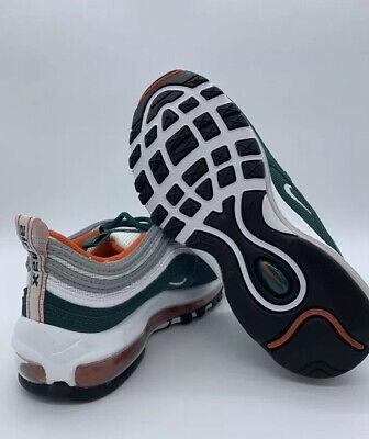 nike air max 97 orange and green