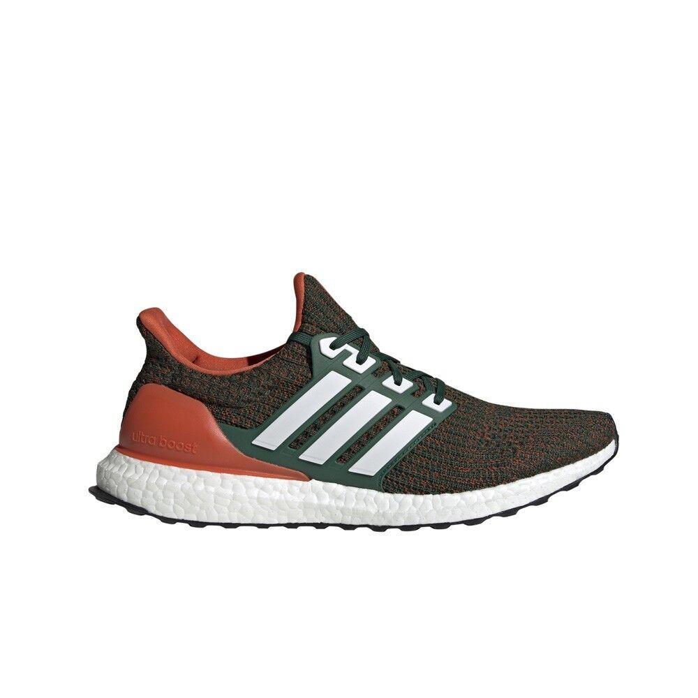 Adidas UltraBoost 4.0 (Dark verde  Cloud  bianca  arancia) Scarpe per uomini EE3702  liquidazione fino al 70%