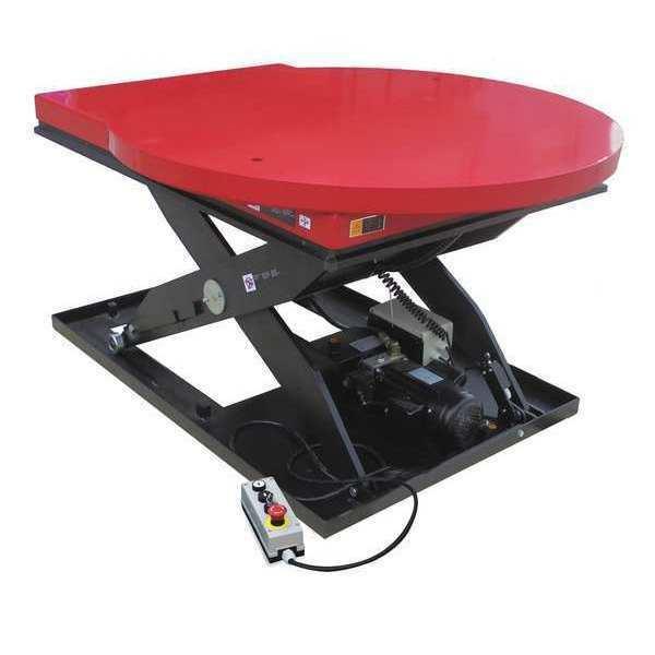 Dayton Scissor Lift Table 2000 Lb  Electric 38TJ92