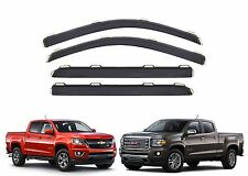 4pc AVS 194995 In-Channel Ventvisors For 2015-2016 Colorado/Canyon Crew Cab New