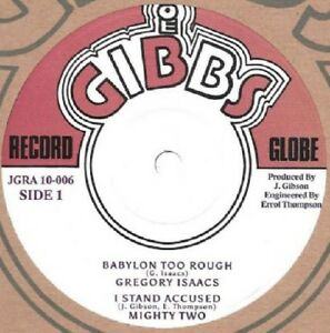 GREGORY-ISAACS-BABYLON-TOO-ROUGH-JUNIOR-BYLES-HEART-AND-SOUL-10in-ROOTS