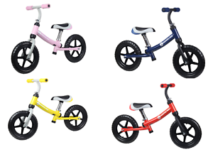 Kinder Laufrad Lauflernrad Fahrrad Roller 12 Zoll ab 2 Jahre Höhenverstellb