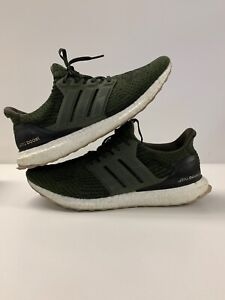 Details about Adidas Ultra Boost 3.0 Night Cargo Sz. 12 S80637 Boost Olive Green