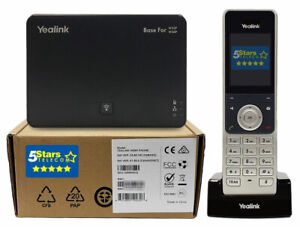 Yealink W56P DECT Cordless Handset w/Base - Brand New, 1 Year Warranty