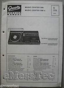 ITT/GRAETZ Music Center 306 a Service Manual, R019