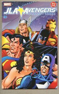 GN-TPB-JLA-Avengers-1-2003-nm-9-4-Newsstand-Variant-Batman-Superman-Justice-L