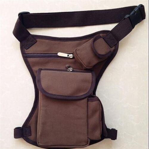 Travel Men Hip Belt Fanny Pack Motorcycle Rider Thigh Waist Leg Bag Supplies QK