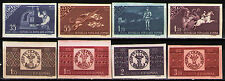 Romania 1958 Sc1252-59(I) Mi1750-57B  8v  mnh  Cent. of Romanian stamps