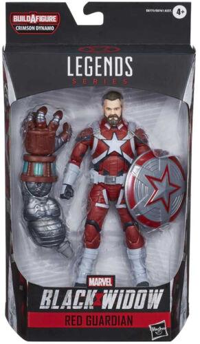 Marvel Legends 6inch Black Widow Hasbro Figure Red Guardian Movie Design
