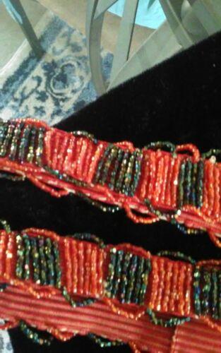 vintage beaded garters