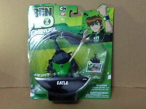 "Ban Dai 2012 Ben Ten 10 Omniverse Alien *Eatle* 4"" inch Figure Mint in Card"