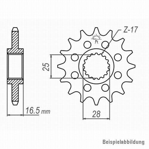 04-13; NIETSCHLOSS extra verstärkt DID Kettensatz KTM 990 Super Duke //R