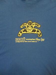 XL-blue-MARK-ECKO-designer-t-shirt-ECKO-COMPLEX-MINDLAB-collection-rare