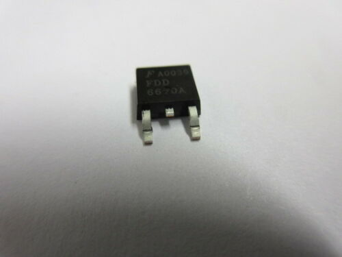 30V MOSFET N-CH powertrench livello logico £ 1.16ea FDD6670A 3 per ogni vendita TO-252-3
