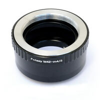 Adjustable M42 Screw Lens to Micro 4/3 m43 Adapter Olympus E-PL6 E-PL7 E-PL8