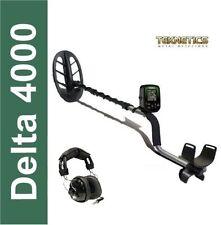 Metal Detector Teknetics Delta 4000 con Piastra da 11 DD + Cuffie