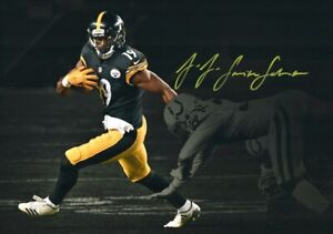JuJu-Smith-Schuster-Steelers-Signed-Autographed-8X10-Photo-REPRINT