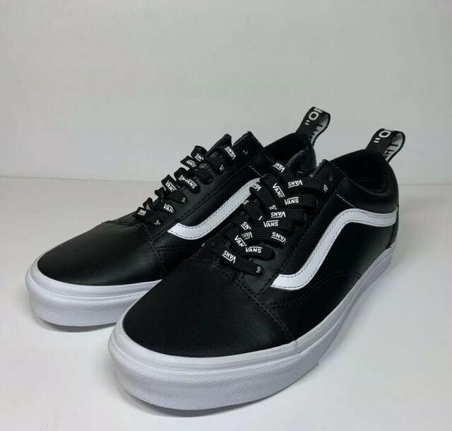 VANS Old Skool Lux Leather - Black