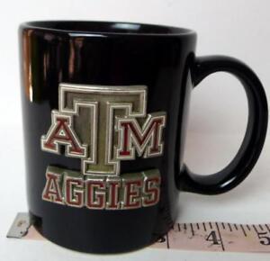 Texas-A-amp-M-TAMU-AGGIES-pewter-logo-Coffee-Mug