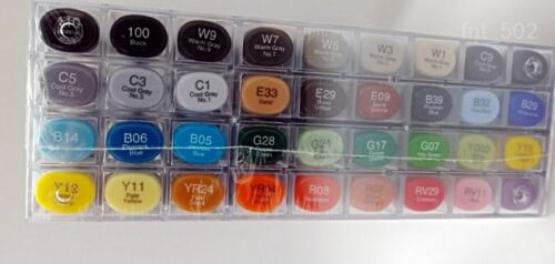 Copic Markers 36-Piece Sketch Basic Set