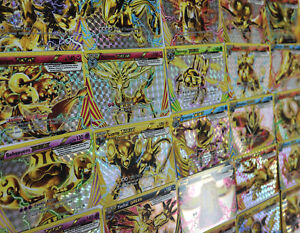POKEMON Trading card game 50 Carte lot Rare fréquent garanti rares et holos