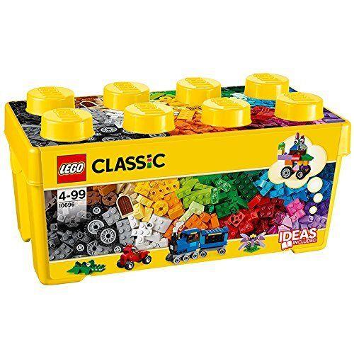 LEGO Classic Mittelgroße Bausteine-Box  Steinebox mit Räder 10696 NEU