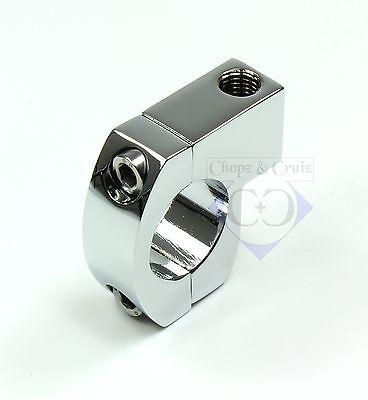 Spiegelhalter - Lenkerklemme - 1 Zoll Lenker 25,4 Mm M10 X 1.25 - Verchromt Wasserdicht, StoßFest Und Antimagnetisch