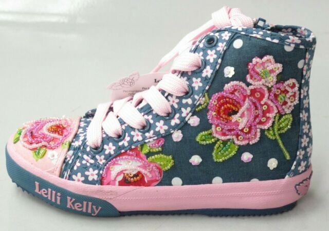 Girls Lelli Kelly Mid Blue Beaded