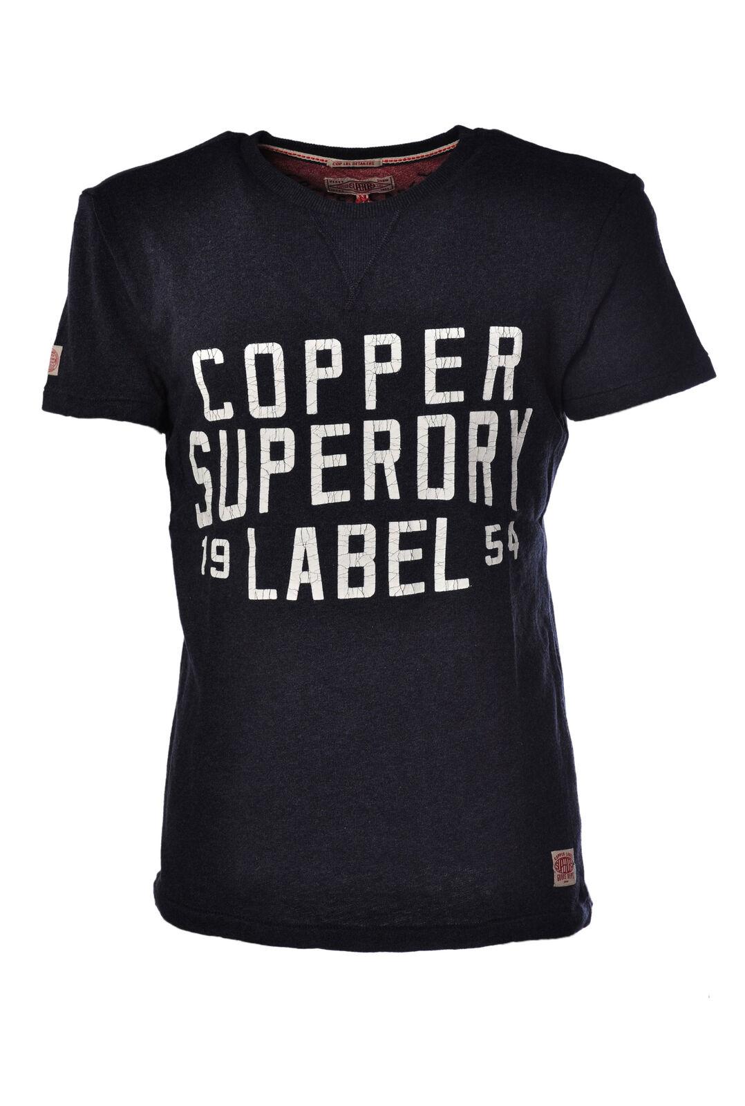 Superdry - Topwear-T-shirts - Mann - blue - 907318C180956