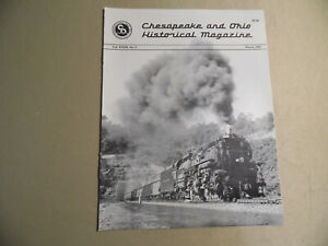Chesapeake and Ohio Historical Magazine / March 1991 / Free Domestic Shipping