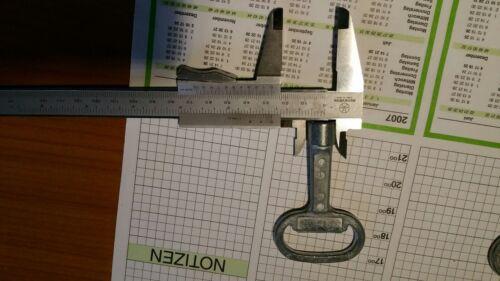 5x Dirak Vierkantschlüssel Steckschlüssel 8mm