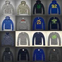 NWT Abercrombie&Fitch Hollister Mens Hoodie Sweatshirt Sweater Top Sz S/M/L