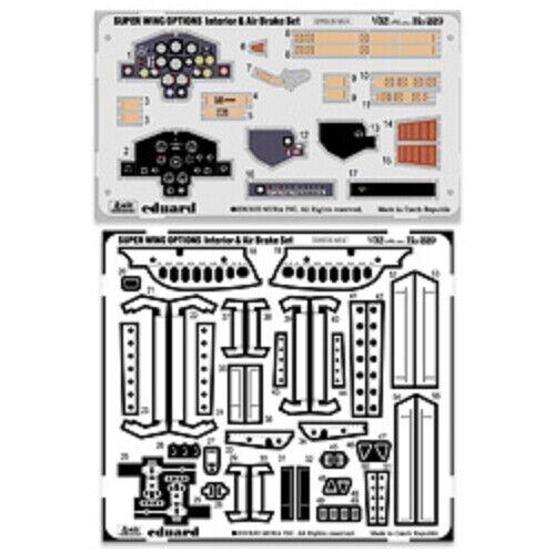 VOLKS SWOP 1//32 Ho 229 Interior and Air Brake Set Plastic Scale Model Kit Hobby