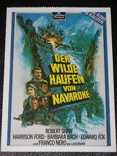 Filmkarte - Cinema - Navarone 2 - Der wilde Haufen von Navarone