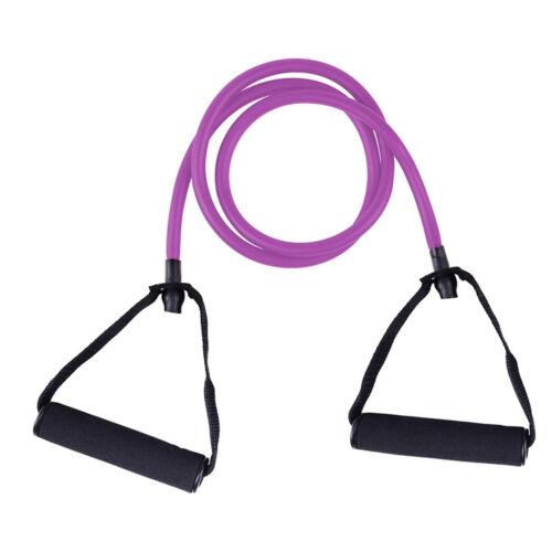 Elastic Resistance Band Pilates Latex Exercise Tube Gym Yoga Fitness Workout SP