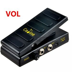Caline-CP-31P-Volume-Guitar-Effect-Pedal-Guitar-Volume-Pedal-Boost-Function