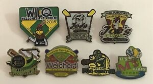 Mixed-Lot-of-7-Little-League-World-Series-Pins-LLWS-2019-Local-Business-Sponsors