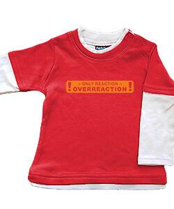 Babybugz-Skate-Layered-Top-Shirt-Baumwolle-Pullover-NEU-rot-react-6-12-12-18-Mo