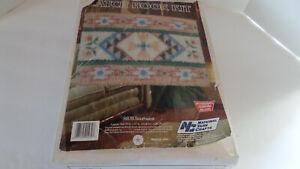 National Yarn Crafts Latch Hook Kit - Southwest - R878 - Vintage