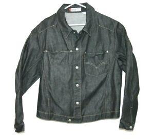Levis-Engineered-Designer-Denim-Jacket-Size-Women-039-s-Large