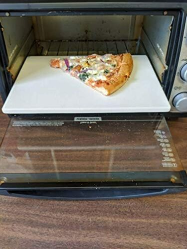 """Details about  /11/"""" Rectangle Toaster Oven Baking Stone High Quality Great For Reheating Pizza"""